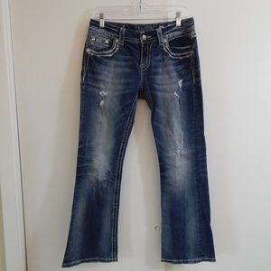 MISS ME JEANS JE8010E5N easy boot cut 28